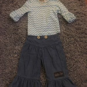 Matilda Jane jeans and top